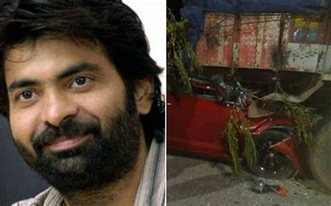 actor dies today in car crash tollywood actor ravi teja s brother bharath raju dies in