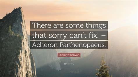 Quotes Acheron Parthenopaeus