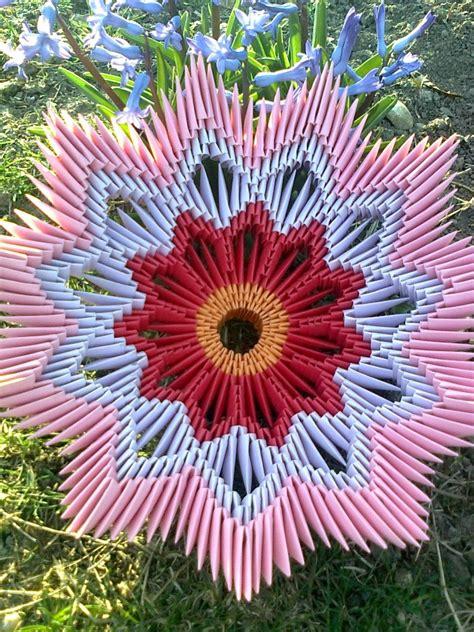Origami Flower Basket - origami basket album lutzu 3d origami