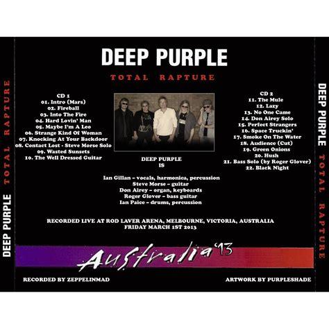 download mp3 full album deep purple total rapture live in melbourne australia 2013 03 01