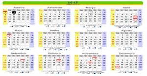 Calendario 2018 Feriados Nacionais Calendario 2017 Feriados Rj