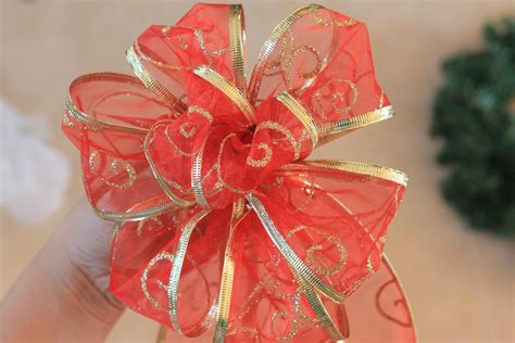 how to make christmas bows out of ribbon apps directories
