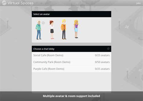virtualspaces socket io chat room by designskate