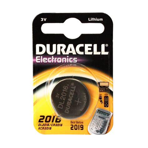 Baterai Cr2016 duracell coin cell battery dl2016 3v lithium replace