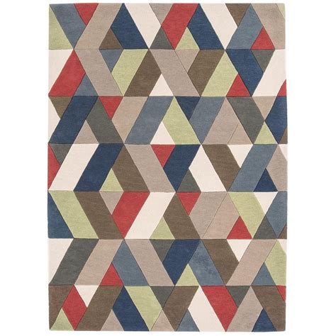 multi chevron rug funk chevron multi colour rug