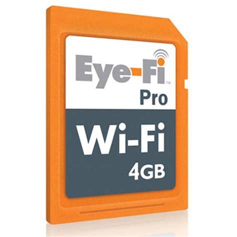 wireless memory card eye fi pro 4gb wireless memory card