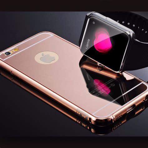 Metal Bumper Mirror 55 Iphone 6 6s Cover Armor 6 6s Plus bumper metal iphone 6 6s plus premium espejo mirror 299 00 en mercado libre