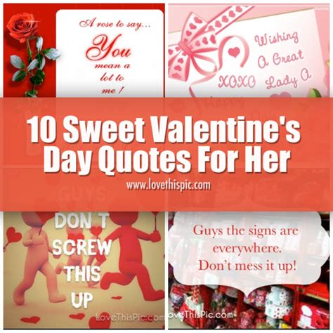 sweet quotes for valentines 10 sweet s day quotes for