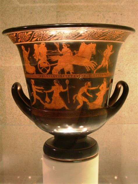 Greece Vase by File Vase Ca 440 Ac From Attica Calouste