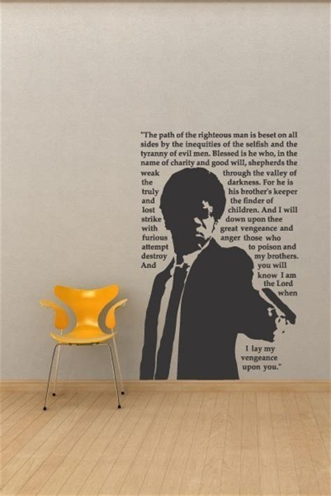 movie quotes vinyl decal pulp fiction jules movie quote urban vinyl wall by
