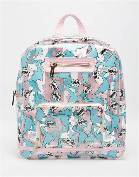 Bocon Donut Sac A Dos by Skinnydip Dinosaur Clear Backpack Something New Bags And The Dinosaurs