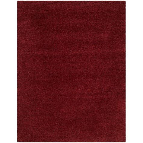 maroon shag safavieh santa shag maroon 9 ft x 12 ft area rug