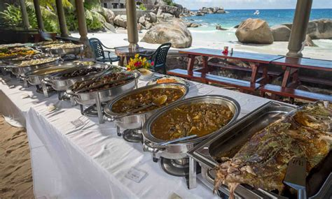 mahe boat house boathouse restaurant with creole buffet i love seychelles