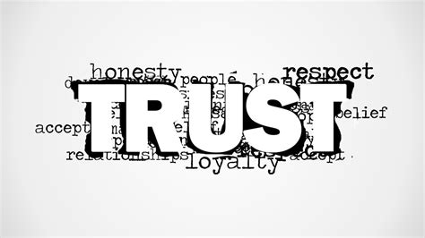 word for trust word cloud picture for powerpoint slidemodel
