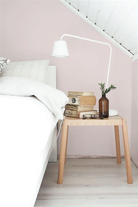 pale pink bedroom interior trend soft pink walls cate st hill