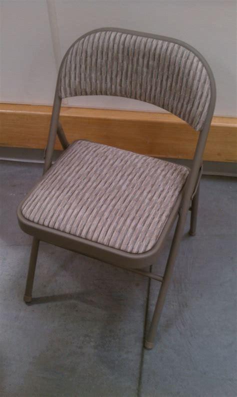 sillas plegables acojinadas silla plegable metalica acojinada meeco 399 00 en