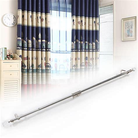 crystal curtain pole ends 120 210cm extendable curtain pole crystal rose flower