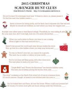 25 best ideas about christmas scavenger hunt on pinterest