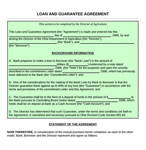 borrow money contract template borrow money contract template new personal loan agreement