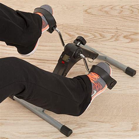 under desk leg exerciser portable folding fitness pedal stationary under desk