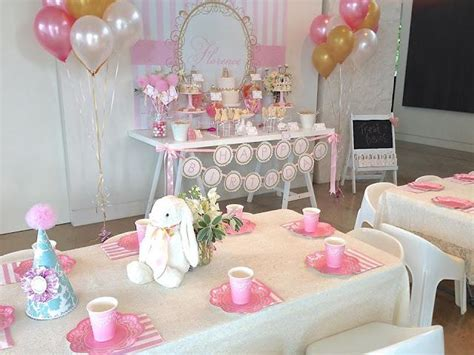 Home Decorating Tips by A Vintage Bunny Rabbit Themed 1st Birthday By Centre Of