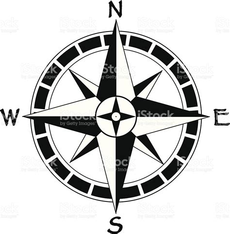 map compass map compass stock vector 165589292 istock