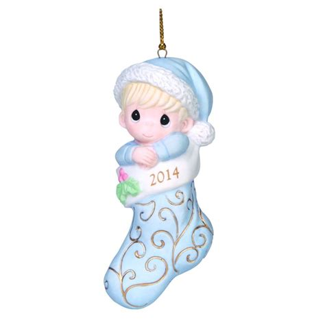 baby s first christmas 2014 boy ornament fitzula s gift shop