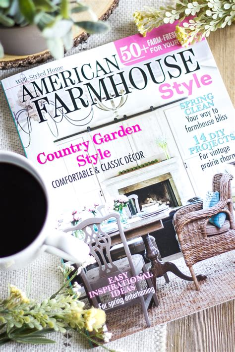 farmhouse decor magazines exciting news and a giveaway bless er house