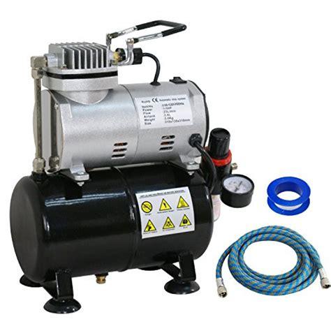 zeny pro 1 5 hp airbrush air compressor kit w 3l tank 6ft hose multipurpose for hobby paint