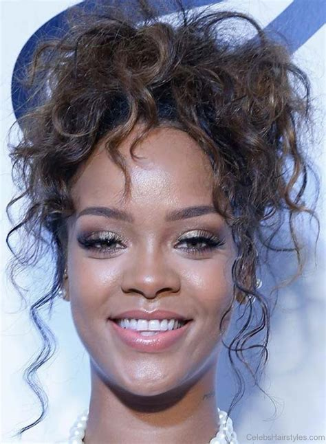 rihanna updo hairstyles 52 stylish haircuts of rihanna