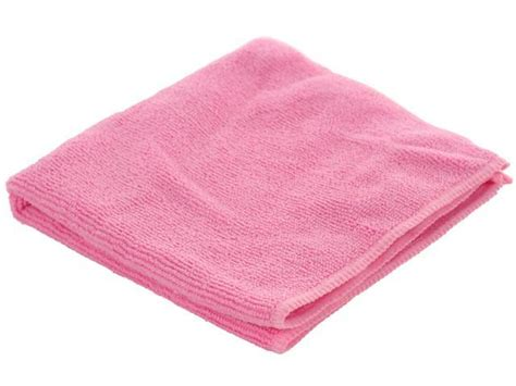 Microfiber Cloths Covered In by Real Clean Microfiber Rag 12 Quot X12 Quot Pink Newegg