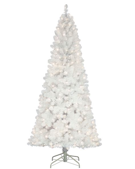 wiley white narrow christmas tree treetopia uk