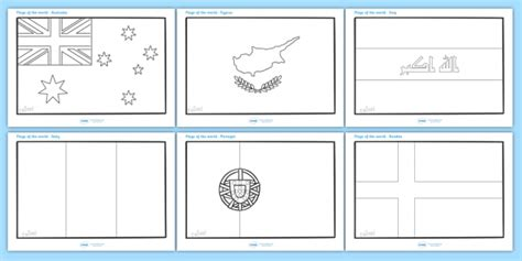 flags of the world twinkl flags of the world colouring sheets flags of the world