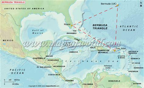 bermuda world map mystery of bermuda triangle around the world