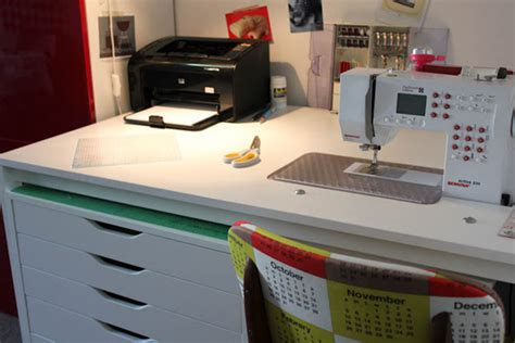 sewing machine table ikea 12 diy sewing table tutorials