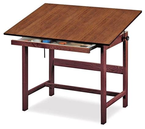 Drafting Table Plans Diywoodtableplans Wood Drafting Table Plans