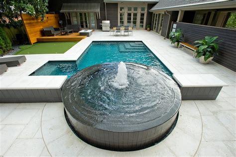 Custom Kitchens By Design by Atlanta Pool Builder Geometric In Ground Luxury Swimming