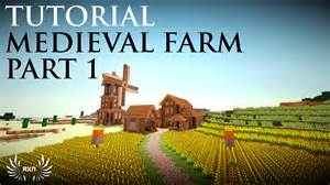 Victorian House Blueprints by Minecraft How To Build A Medieval Farm Part 1 3 Youtube