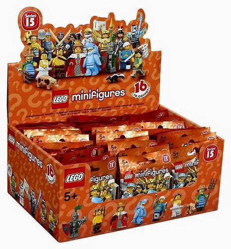 Minifigures Series 15 Limited 1 lego collectible minifigures series 15 71011 feel guide