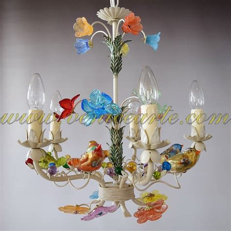 murano glass chandelier sparrows murano glass chandelier