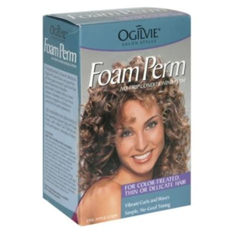what brand of perm is best for fine straight hair ogilvie foam perm for color treated thin or delicate hair