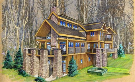 log home design magazine castle home