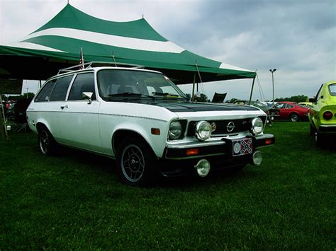 opel ascona wagon photo