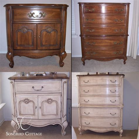 refinished bedroom furniture chalk paint furniture provencal furniture before