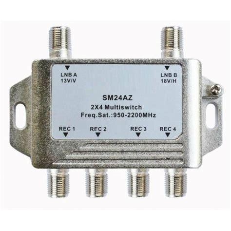 Multi Switch Lnb satellite lnb multi switch 2 lnb input 4 receiver output