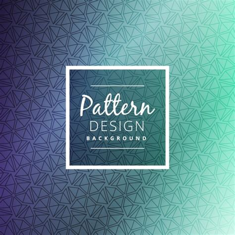 design pattern most used geometric triangle shape pattern design vector free download