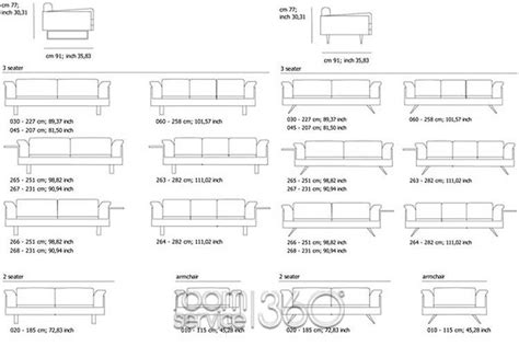 typical couch length al leather sofa by contempo room service 360 176