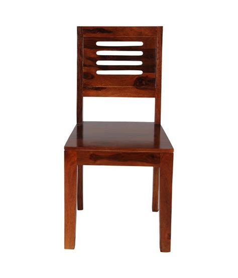 Sheesham Wood Dining Chairs Sheesham Wood Dining Chair In Honey