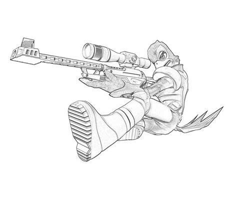 sniper gun coloring page free coloring pages of sniper gun