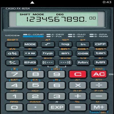 Kalkulator Ilmiah kalkulator ilmiah
